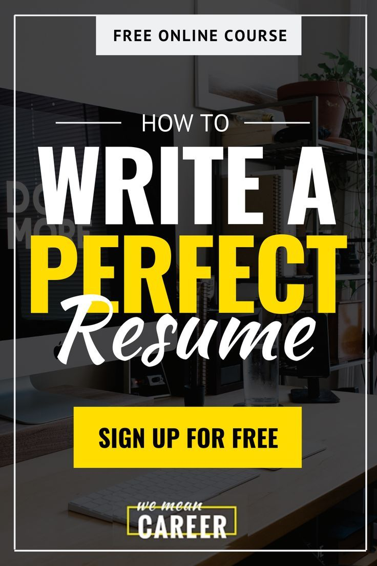 Searching for writing resume tips? In our online course