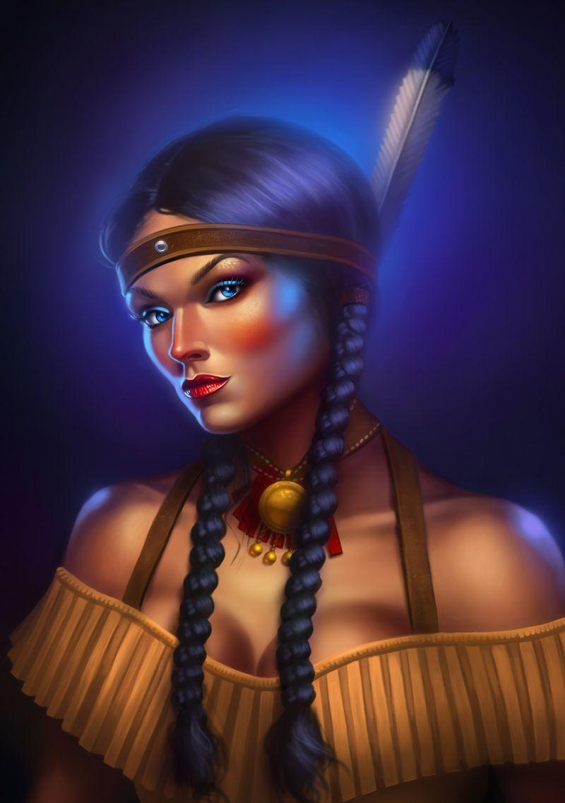 523aad37b Sin City: Native American Woman 2 by cgaddictworld.deviantart.com on @ DeviantArt