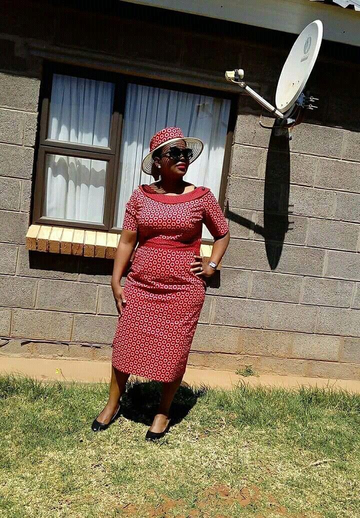 From the mountain kingdom of lesotho shweshwe dresses