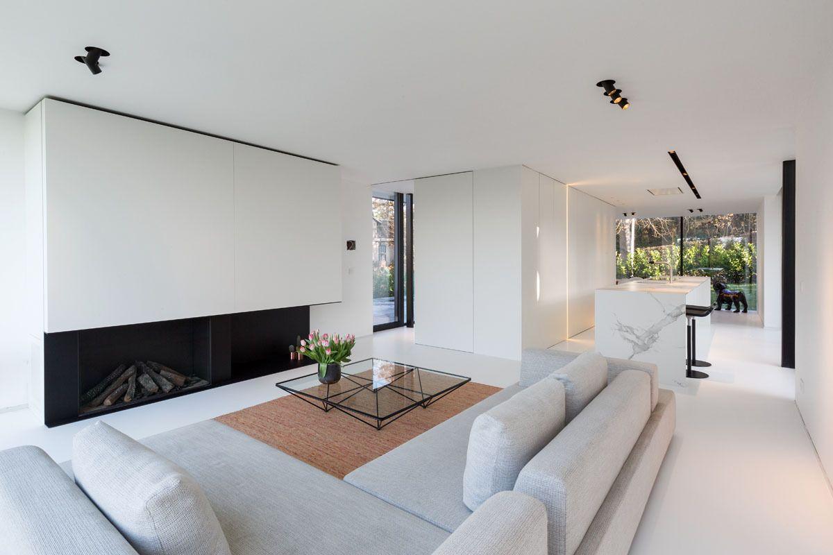 Esszimmer ideen mit grauen wänden in beeld loftgevoel in een vrijstaande woning  ik ga bouwen