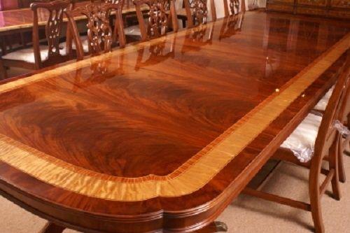 Floor Sample Leighton Hall Mahogany Dining Table 13 Ft Long