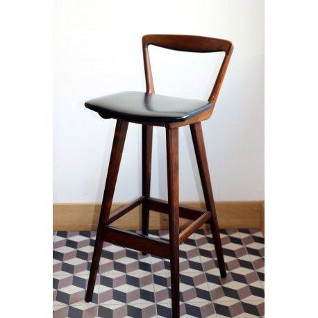 Tabouret Rosengren Hansen Scandinave D Occasion Vintage Design