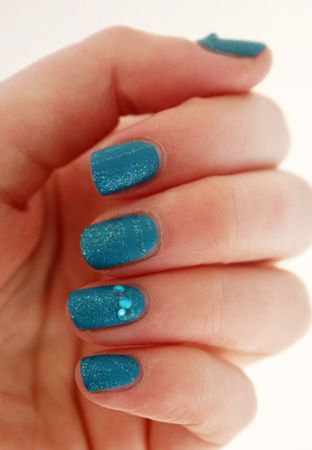 Sportsgirl Nail It I Art Nails 3 In 1 Diy Nail Pen In Blue Nail