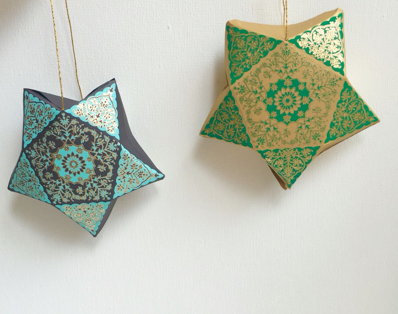 Gift boxes that hang! Perfect for Ramadan and Eid party decor and ...