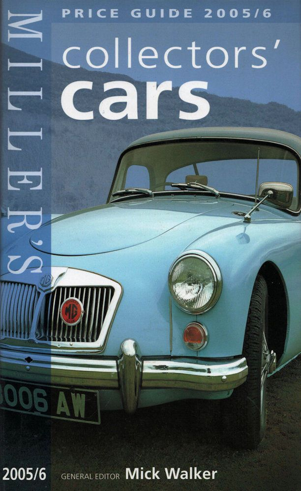 Millers COLLECTORS CARS Price Guide, Walker, 1840009616, New ...