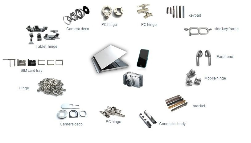 Metal Injection Molding (MIM) Parts for Consumer Electronics | Metal