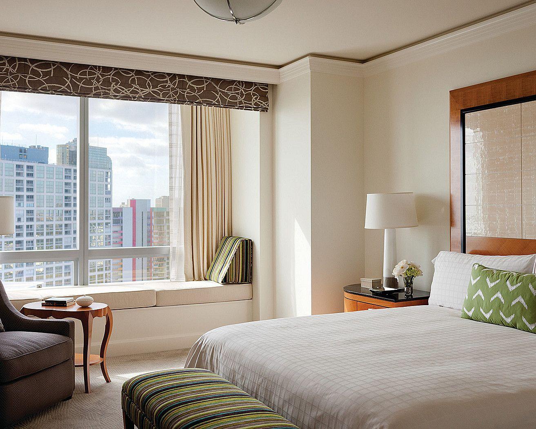 One Bedroom Bay View Suite (bedroom) One bedroom, Four