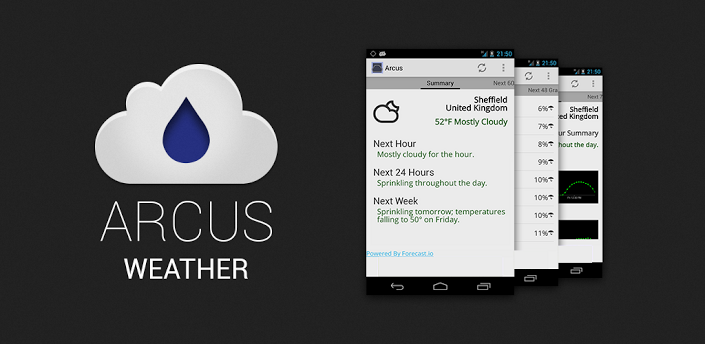 Arcus Weather (using Dark Sky) Best android games, App