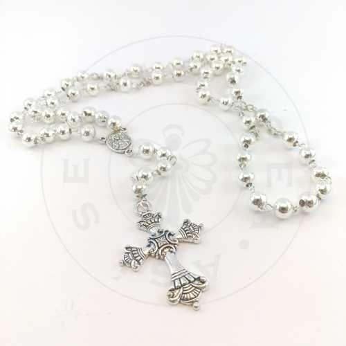 rosario metal grande