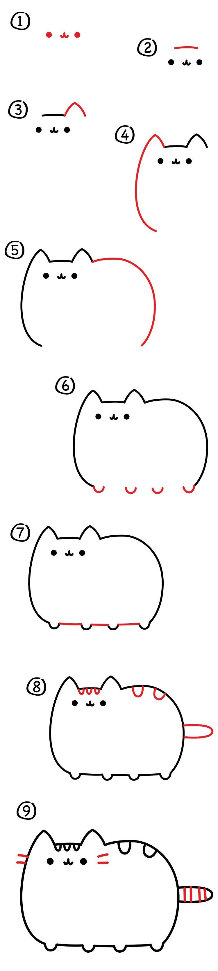 Como Dibujar Un Dibujo Kawaii Paso A Paso