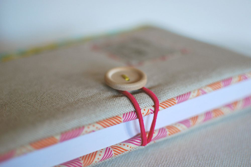 Mint Handicrafts | Journal cover Margarida