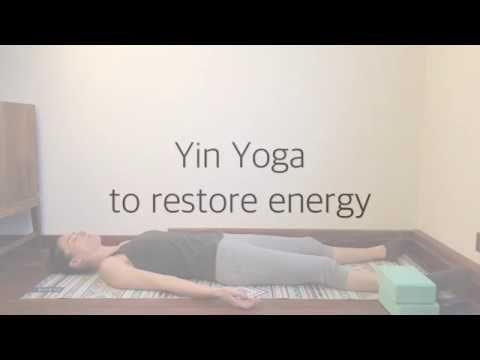 yin yoga to restore energy  full sequence  youtube  yin