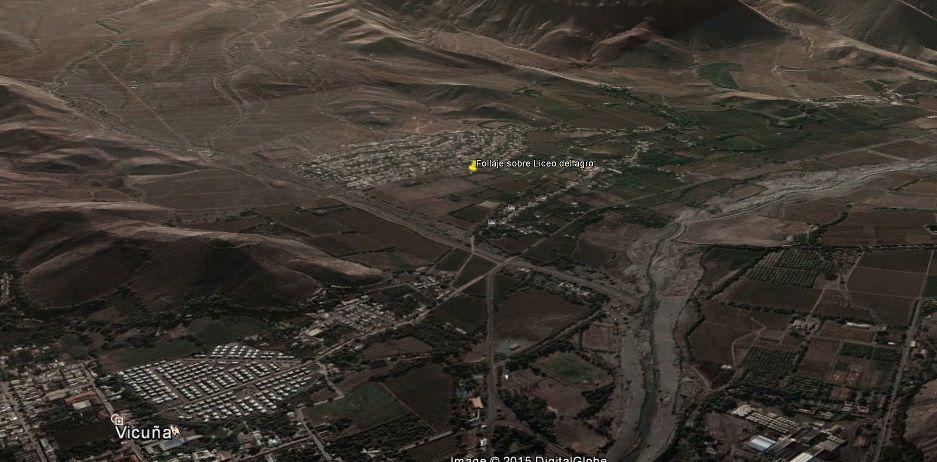 el entorno inmediato Directrices... Cerros que encajonan, rio que marca un Sendero