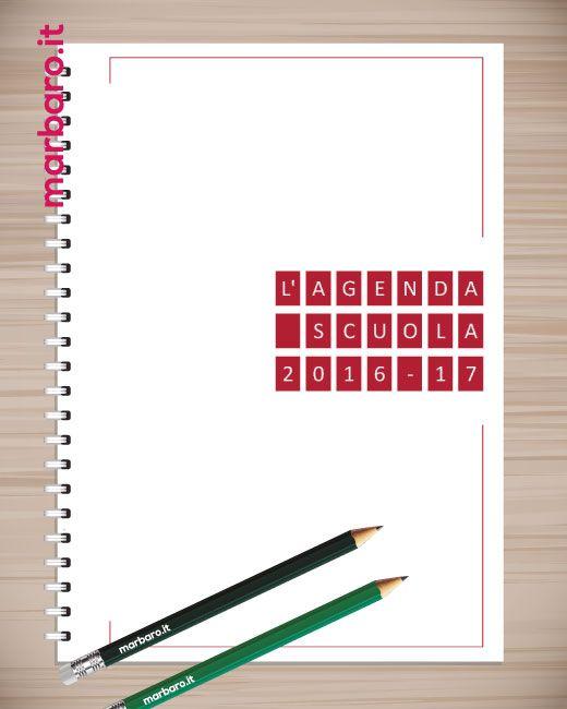 Agenda scolastica per insegnanti 2016\/2017 Planning e Agende - agenda