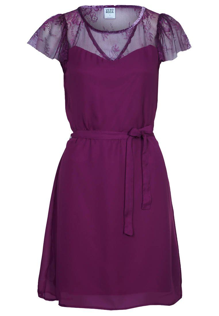 Vero Moda - WALLEY - Cocktailkleid / festliches Kleid - purple ...