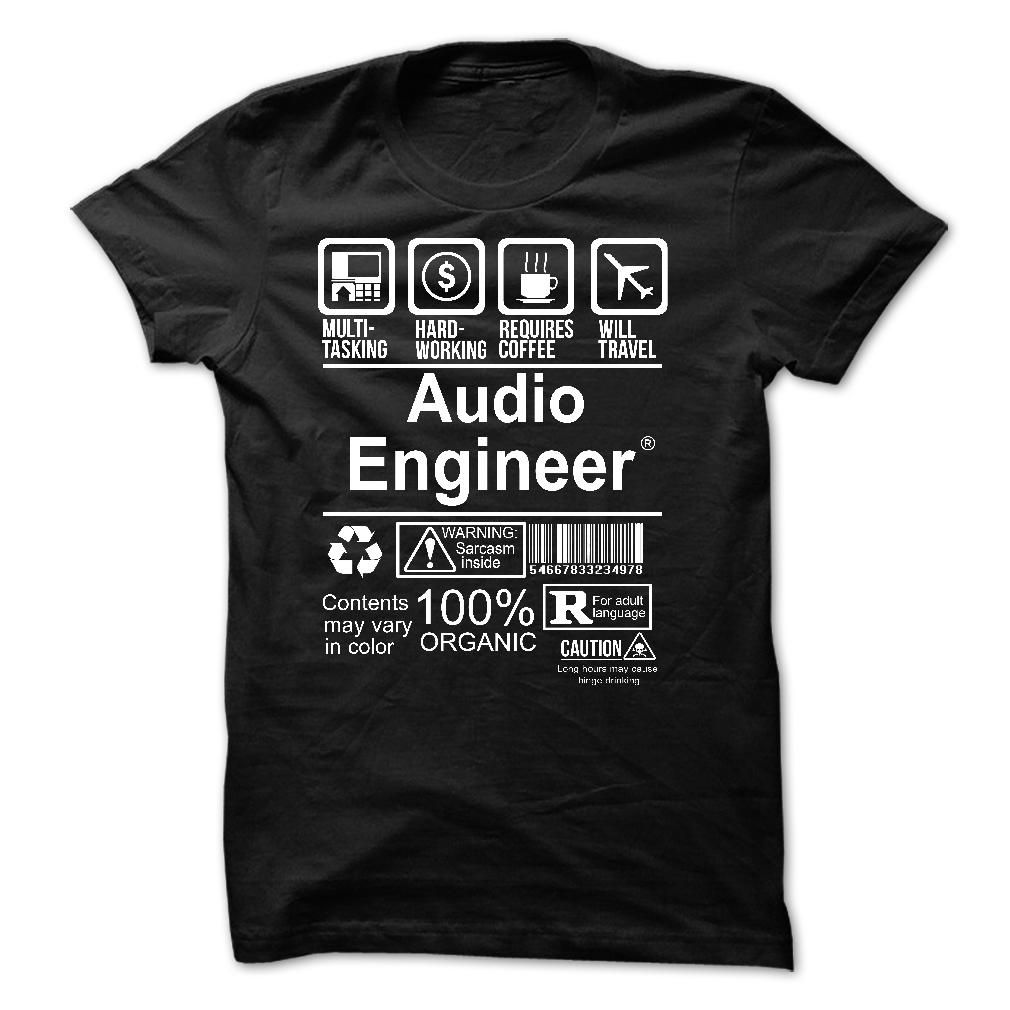 Create your own designs amp sell your design online shirts zazzle - Awesome Audio Engineer T Shirt Hoodie Engineer Tee Shirts
