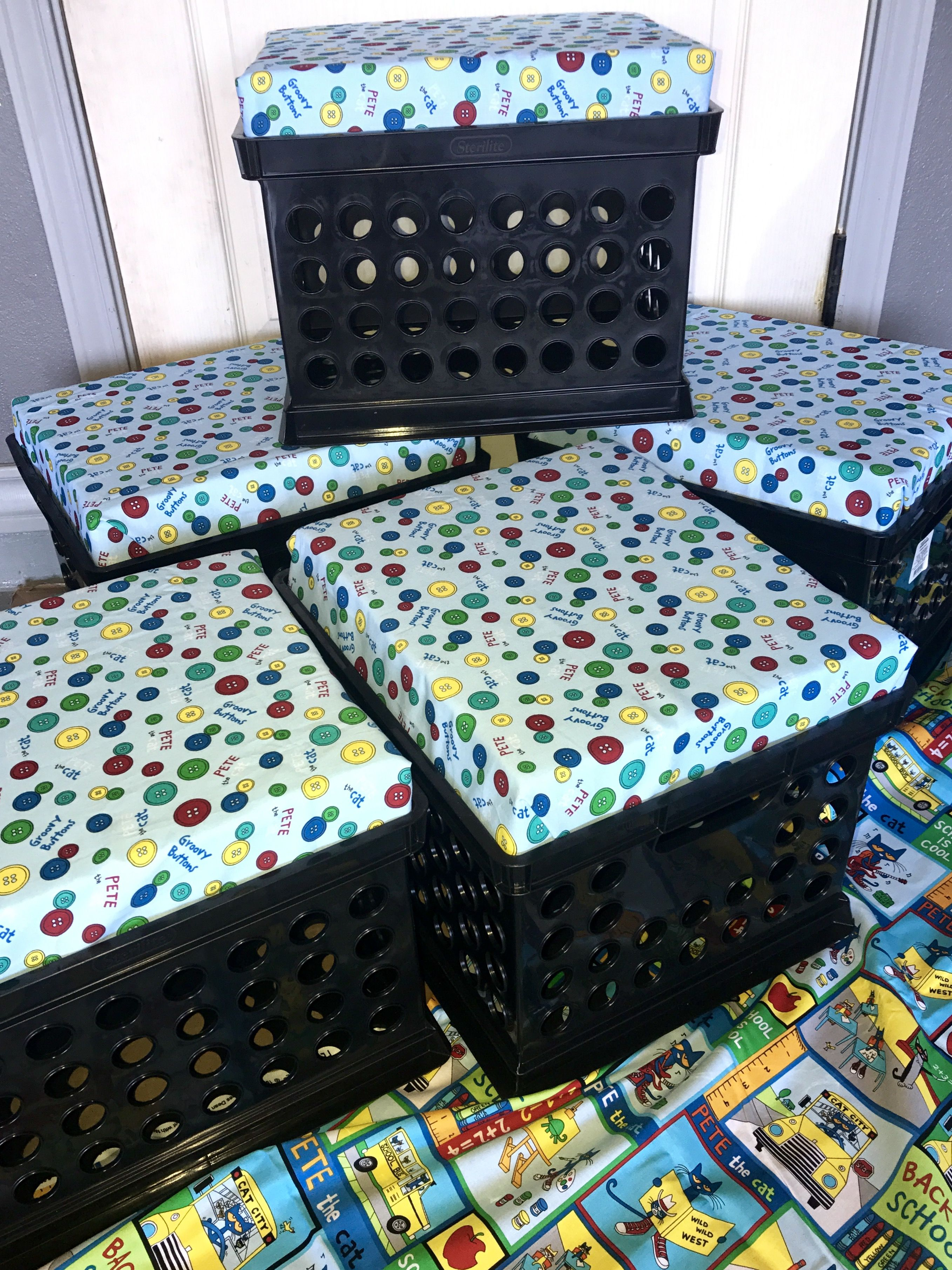 Pete The Cat Crate Seats Ready For The Upcoming School