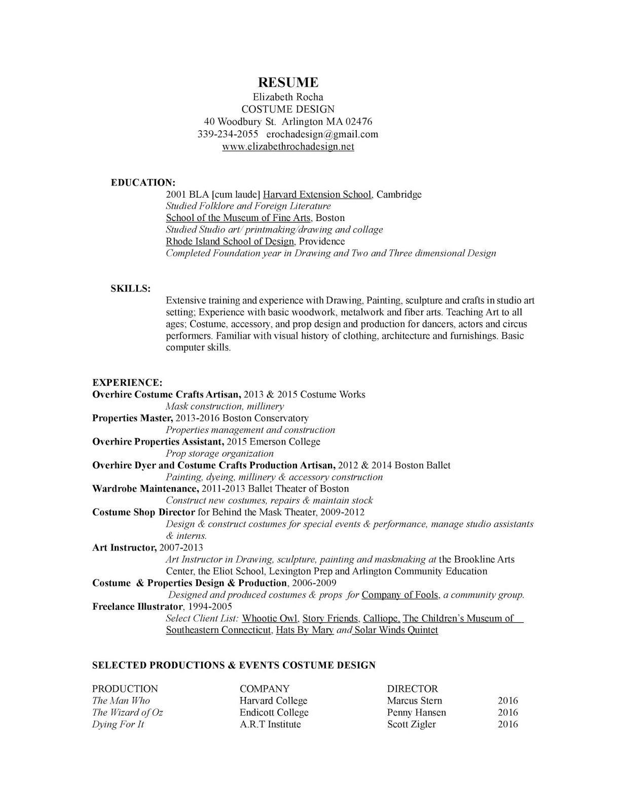 Harvard Extension School Resume Harvard Extension School Resumes And Cover Letters Harvard Extension School On A Resu Extension School Harvard Extension Resume