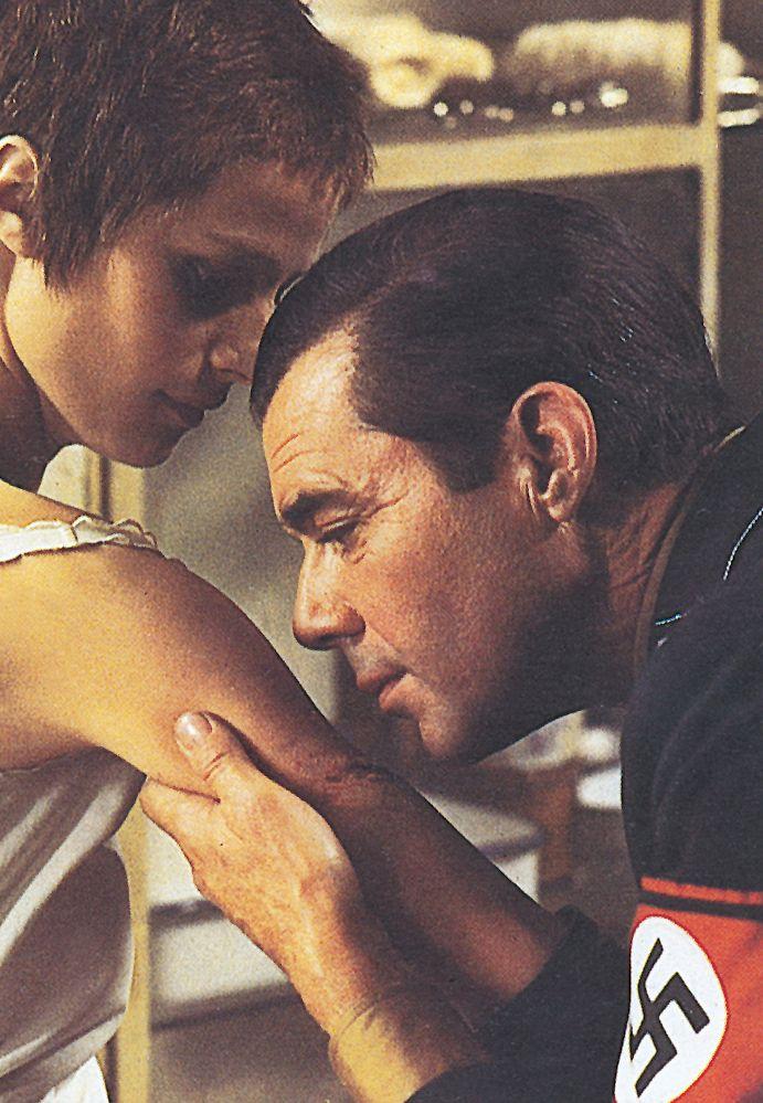 Charlotte Rampling  Dirk Bogarde The Night Porter (1974) Film