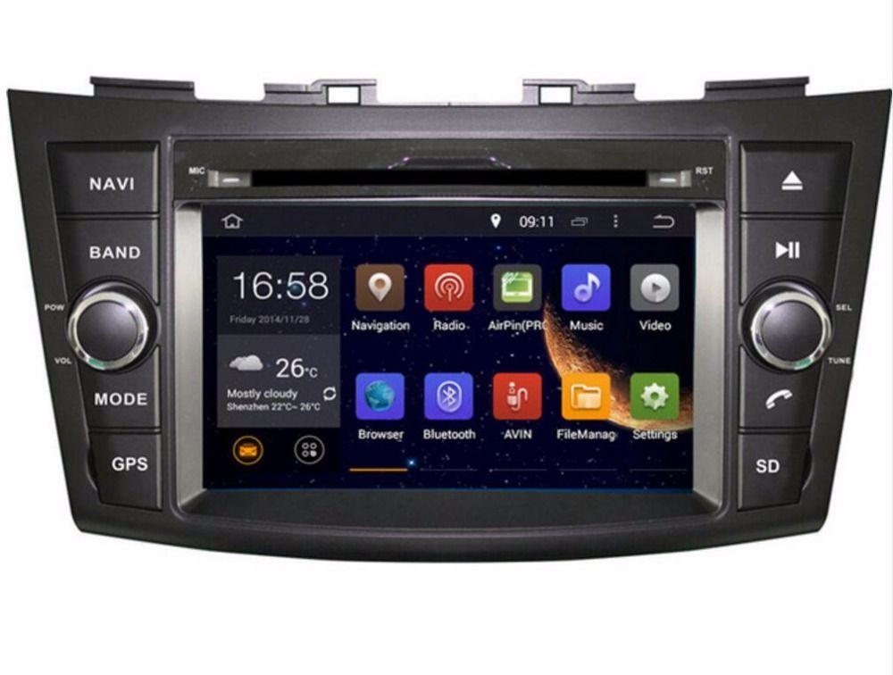 Ram 2gb Hd Android 7 1 Fit Suzuki Swift 2011 2012 2013 2014 2015 Car Dvd Player Multimedia Navigation Gps Navi Radio Audio D Car Dvd Players Radio Suzuki Swift