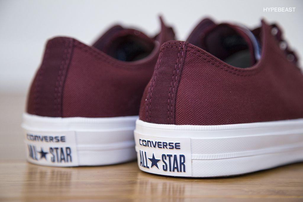 converse chuck taylor all star ii bordeaux