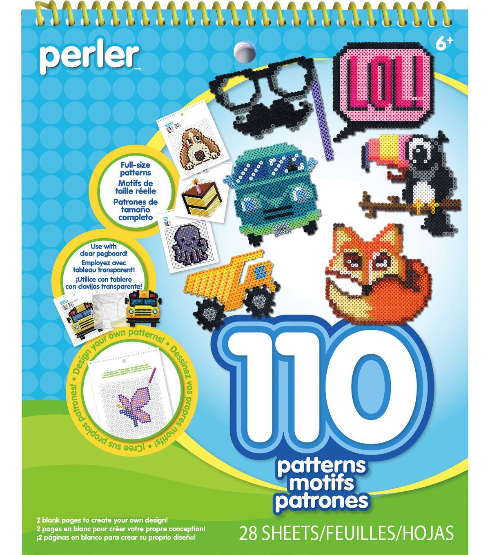 110 Perler Bead Patterns Set-Perles Pad