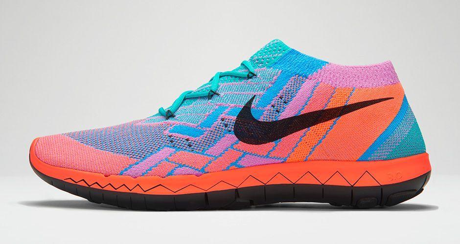 Femmes Nike Libre Flyknit 3.0 Chaussures De Course