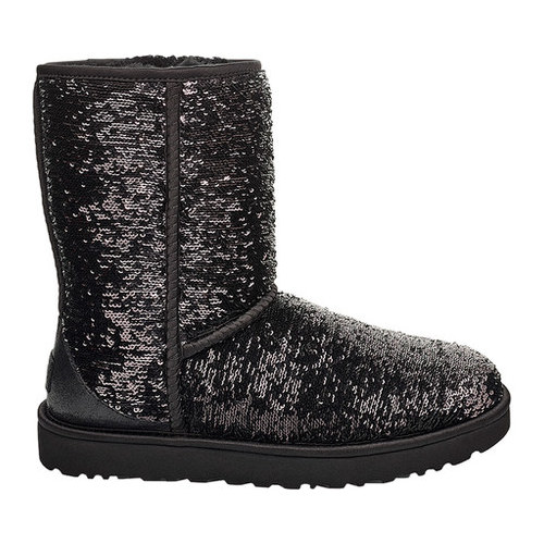 UGG Classic Short Cosmos Sequin Boot in 2019 | Ugg classic
