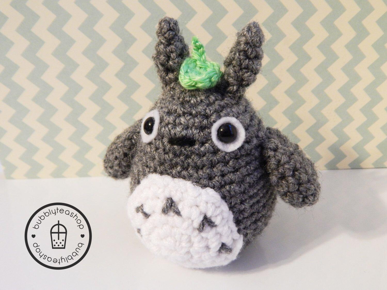 Amigurumi Totoro : Totoro plush mini totoro amigurumi totoro valentines gift gift