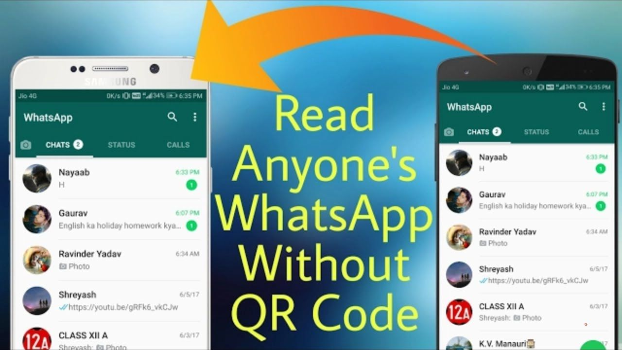 How to hack someones whatsapp without scanning qr code or