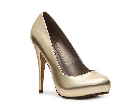 bad95e3b03a Looking for new silver shoes that will also work with the bridesmaids  dress. (Assumes I could walk in these.) Michael Antonio Love Me Metallic  Pumps - DSW