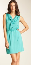 Anne Klein...Solid Drape Front Dress  $49.00..62% off...2 Colors...Ends Saturday 4/14 at 8AM Pacific