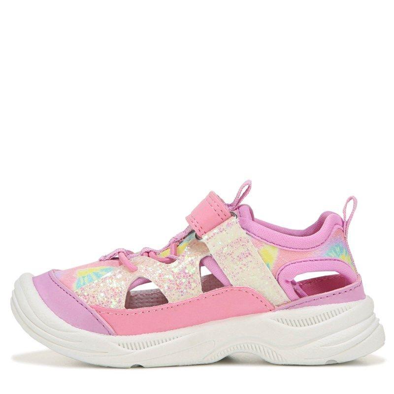 OshKosh BGosh Toddler and Little Girls Selene Bump Toe Sandal