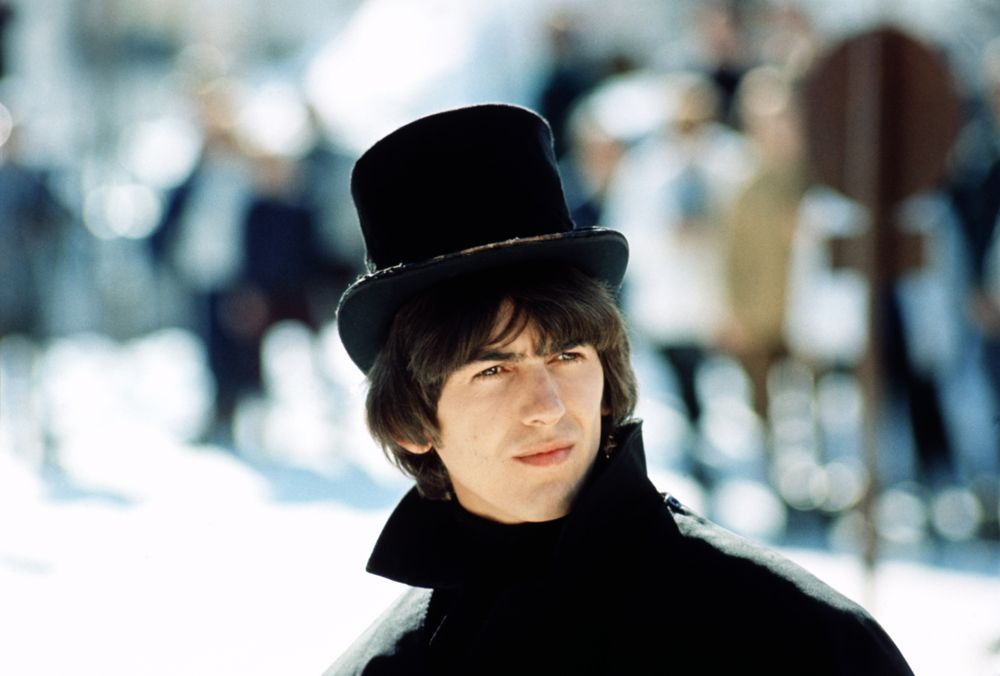 Image result for george harrison in help