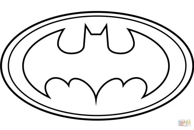 Free Printable Coloring Page Batman In 2020 Batman Coloring Pages Printable Batman Logo Coloring Pages