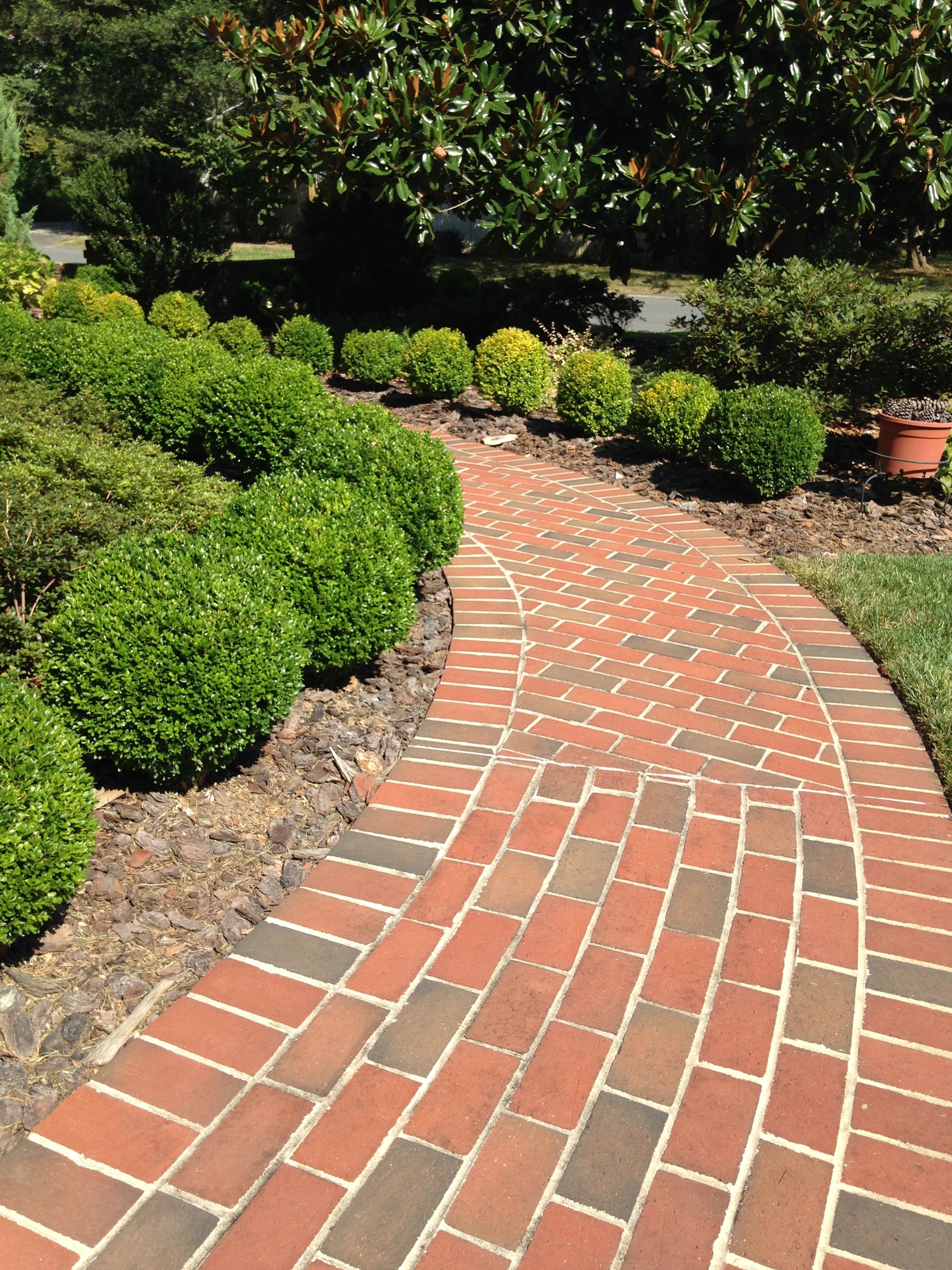 New patio and landscaping close up of the pavers flickr - Brick Pavers Make Curves And Patterns For Your Garden Landscape Color Pathway Full Range