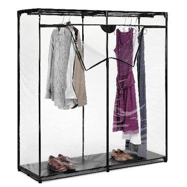 Basement Coat Storage 44 99 Via Www Spacesavers Com Portable Closet Closet Organizing Systems Clothes Closet