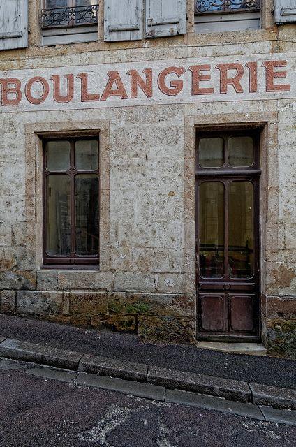 Boulangerie in Semur en Auxois ~ Côte d'Or