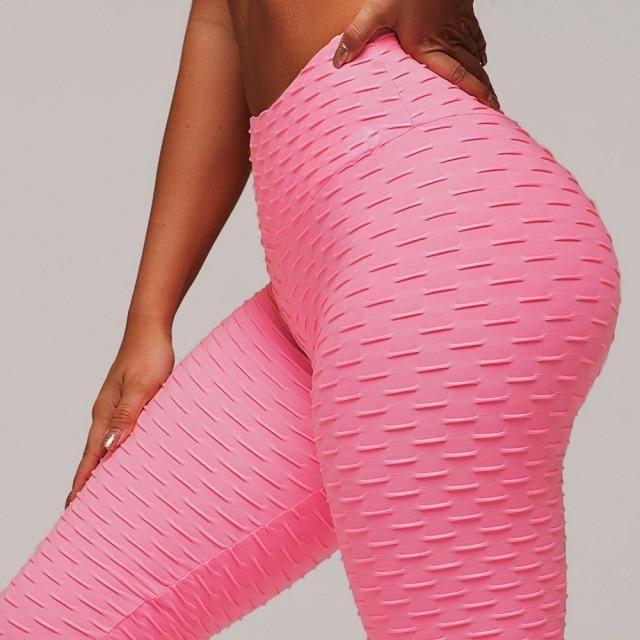 Photo of NADANBAO Fashion Jacquard High Waist Leggings Hot Sale Women Fitness Leggings PUSH UP Workout Pants Female – 200925 / XS