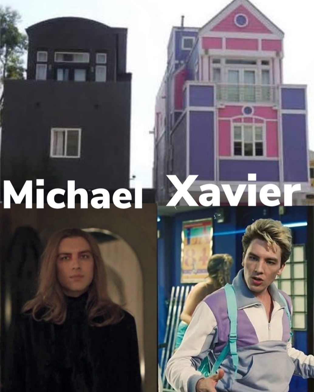 """Kat on Instagram: """"I know that variations of this have been done before, but I couldn't help myself #michaellangdon #codyfern #ahs1984 @codyfern"""""""