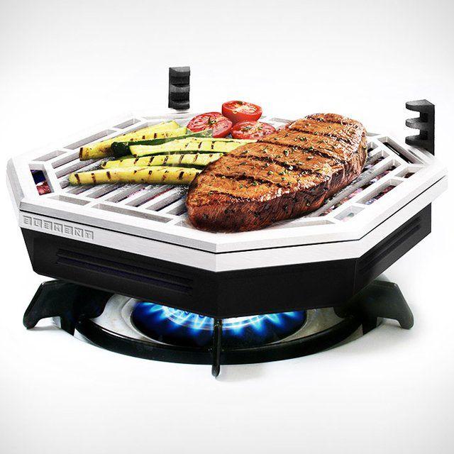 Convertir tu cocina de Gas en una Barbacoa sin humos