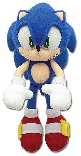 Great Eastern Entertainment Sonic The Hedgehog Mini 7 75 Plush Great Eastern Entertainment Http Www Amazon Com D Sonic Plush Toys Plush Dolls Sonic Birthday