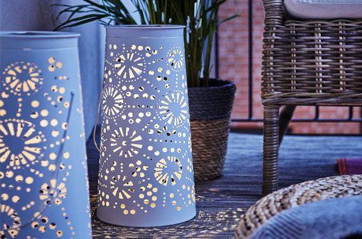 Lampe décorative à énergie solaire LED