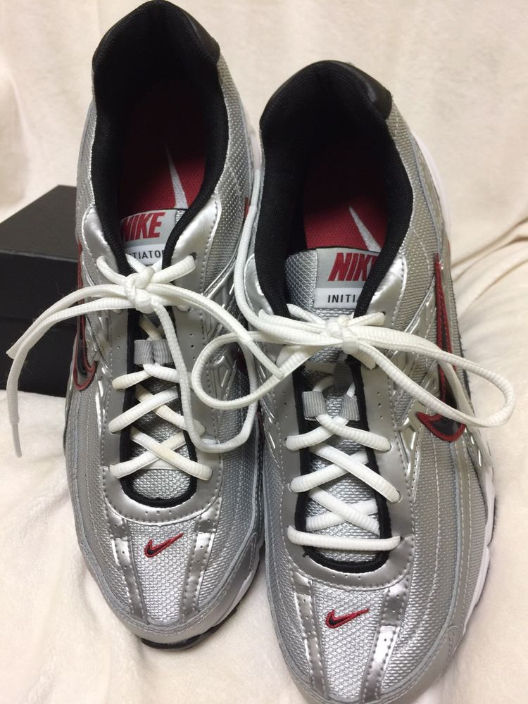 3a68c268377a9 NIKE INITIATOR SILVER   BLACK MEN S RUNNING SHOE SIZE 9 1 2 NICE!!  fashion   clothing  shoes  accessories  mensshoes  athleticshoes (ebay link)
