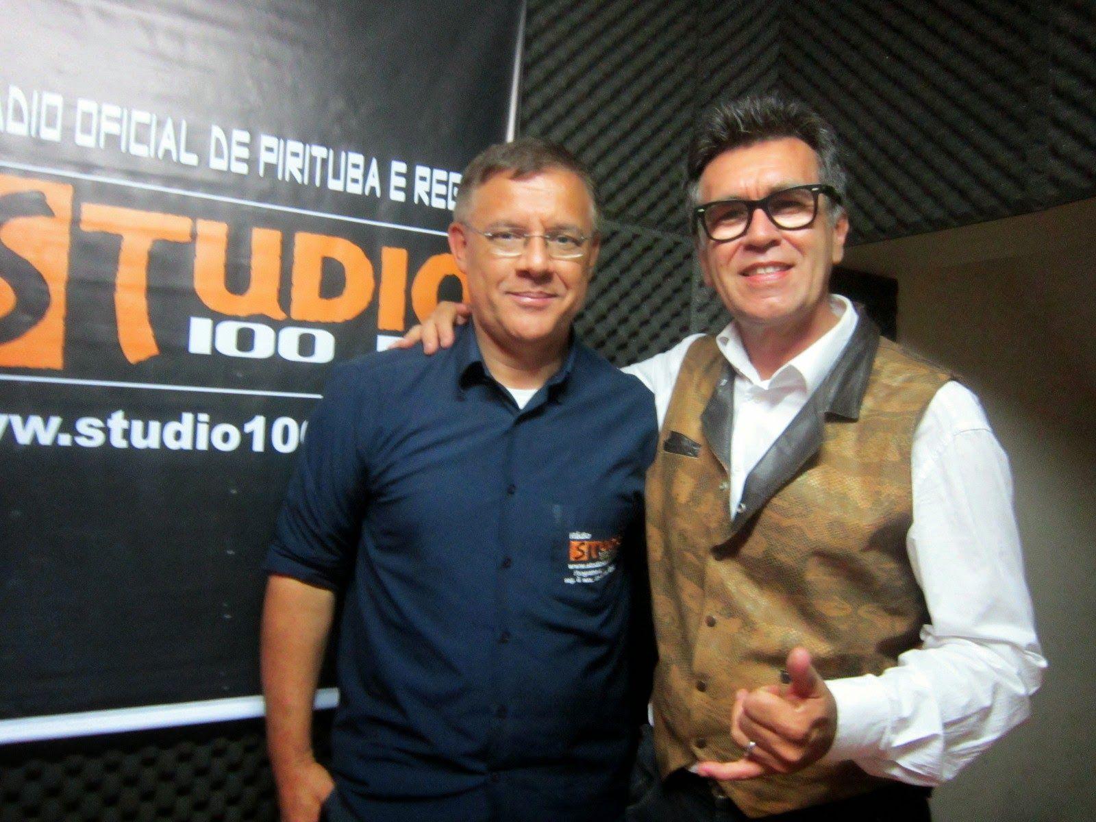 Primeira Entrevista de Guto Maia no Programa Dia a Dia, com Eron Pinheiro, Rádio Studio 100 FM, em 21 de novembro de 2014.