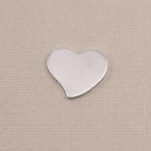 Beaducation: Aluminum Small Stylized Heart, 18g [KA012]