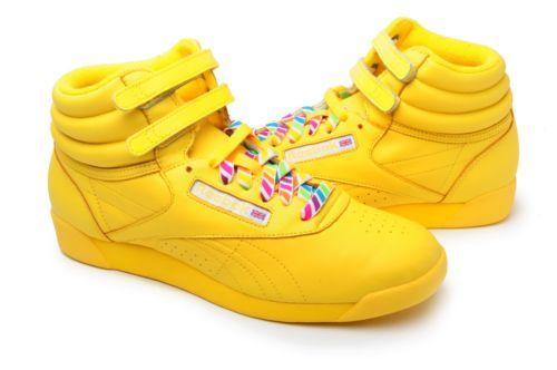 yellow reebok high tops - WinWin Atlantic