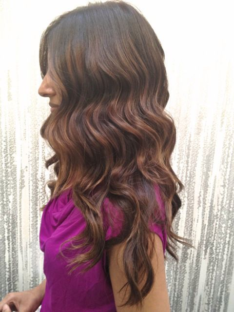 Brunette Highlights Everyday Pinterest Highlights Waves And