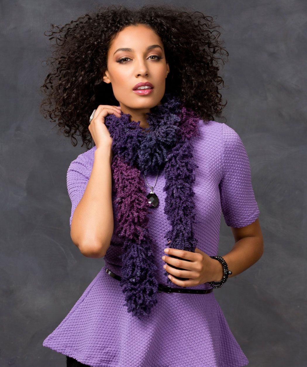 Schnell und einfach einen Schal mit 3 Maschen stricken Gratis ...