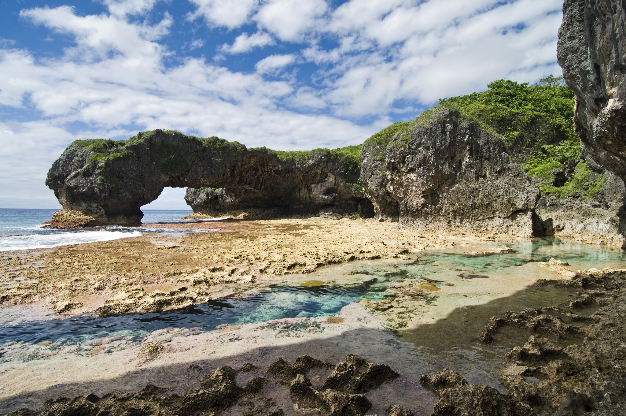 Talava Arches, Niue, French Polynesia ✯ ωнιмѕу ѕαη∂у